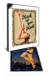 Kick Up Your Heels & Paint the Town Set Prints by Kate Ward Thacker