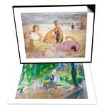 Three Women on the Beach & The Dinner; Le Dejeuner Set Art by Henri Lebasque