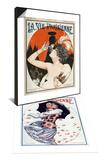 La Vie Parisienne, Cheri Herouard, 1922 & La Vie Parisienne, Maurice Milliere, 1923 Set Prints
