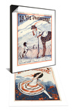 La Vie Parisienne, 1923, France & La Vie Parisienne, Armand Vallee, 1922, France Set Prints