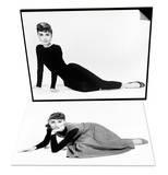 "Audrey Hepburn. ""Sabrina Fair"" 1954, ""Sabrina"" Directed by Billy Wilder Set Poster"