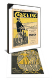 Cycling, Bicycles Magazine, UK, 1922 & Weldon's Ladies Journal, Magazine Cover, UK, 1940 Set Posters