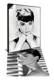 "Audrey Hepburn & Audrey Hepburn. ""Sabrina Fair"" 1954, ""Sabrina"" Directed by Billy Wilder Set Art"