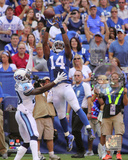 Hakeem Nicks 2014 Action Photo
