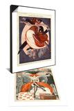 La Vie Parisienne, 1920, France & La Vie Parisienne, Julien Jacques Leclerc, 1920, France Set Prints