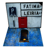 Street Signs and Letterbox, Portugal & Weathered Blue Façade, Santa Maria Tonantzintla, Mexico Set Prints by Jeffrey Becom