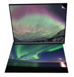 Aurora Borealis, Wrangell Mountains & Aurora Borealis, Arctic Nat'l Wildlife Refuge, Alaska Set Poster by Hugh Rose