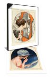 La Vie Parisienne, Magazine Plate, 1919 & La Vie Parisienne, Magazine Plate, 1925 Set Posters