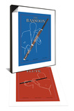 The Bassoon & The Flute Set Posters