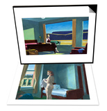 Western Motel & Morning in a City Set Print by Edward Hopper