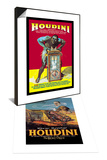 Houdini & The Literary Digest: Houdini Buried Alive Set Posters