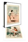 1920s France La Vie Parisienne Magazine Plate & 1920s France La Vie Parisienne Magazine Plate Set Poster