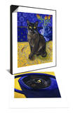 Burmese Cat, Series I & Cat in the Watering Can (Chat a L'Arrosoir) Set Posters by Isy Ochoa