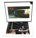Nighthawks & Automat Set Prints by Edward Hopper