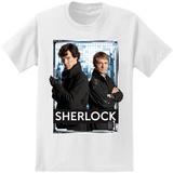 Sherlock - Sherlock And Watson Photoreel T-shirts