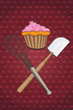 Cupcake - Whisk and Spatula Prints