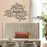 Family Quote Peel and Stick Wall Decals Wall Decal