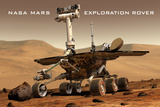 NASA Mars Exploration Rover Sprit Opportunity Photo Art