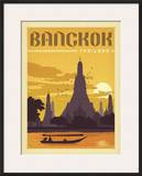Bangkok, Thailand Posters by  Anderson Design Group