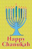 Happy Chanukah (Menorah) Prints