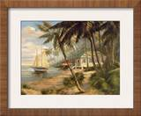 Key West Hideaway Print by Enrique Bolo