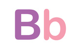 Kids Alphabet Letter B Prints