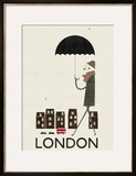 London Print by Blanca Gomez