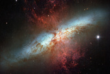 Happy Sweet Sixteen Hubble Telescope Starburst Galaxy M82 Space Photo Prints