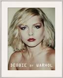Debbie Harry, 1980 (Polaroid) Art by Andy Warhol