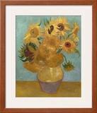 Sunflowers, c.1889 高品質プリント : フィンセント・ファン・ゴッホ