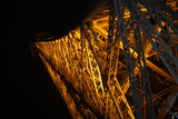 Paris France Eiffel Tower at Night 2 Photo Prints