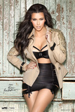 Kim Kardashian Jacket Prints