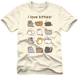Pusheen - I Love Kitties Shirts