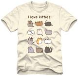 Pusheen - I Love Kitties T-Shirt