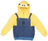 Despicable Me 2 - Minion Costume Hoodie Zip Hoodie