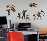 Star Wars Rebels Peel and Stick Wall Decals Seinätarra