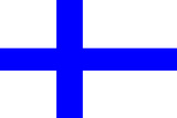 Finland National Flag Poster