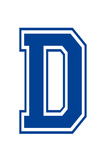 Varsity Letter D Make Your Own Banner Posters