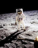 Buzz Aldrin - Apolo 11 Walks On the Surface of the Moon Photo