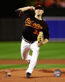 Chris Tillman Game 1 of the 2014 American League Championship Series Action Photo