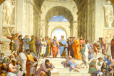 Raphael (The School of Athens) Restored Art