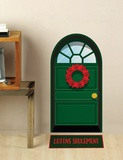 Green Door Wall Decal