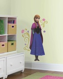 Frozen's Anna with Cape Giant Peel and Stick Wall Decals Wall Decal
