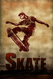 Skateboarding Skate Sketch Sports Prints