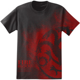 Game of Thrones - Fire and Blood Splatter T-Shirt