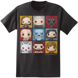 Game of Thrones - Funko Character Boxes T-Shirt