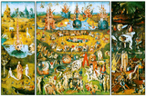 Hieronymus Bosch Garden of Earthly Delights Plakáty