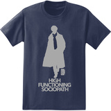 Sherlock - High Functioning Sociopath T-Shirt