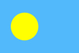 Palau National Flag Posters