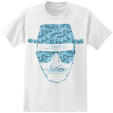 Breaking Bad - Heisenberg Face with Meth T-shirts